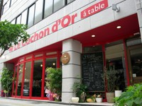Le Cochon d'Or a table